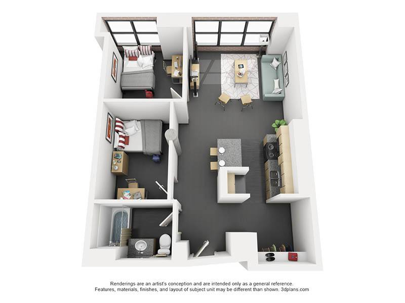 ViewAffordable 1  2  3   4 Bedroom Student Apartments in Chicago  IL. 3 Bedrooms Apartments. Home Design Ideas