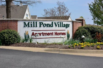 Apartments for rent at Mill Pond Village Apartments.
