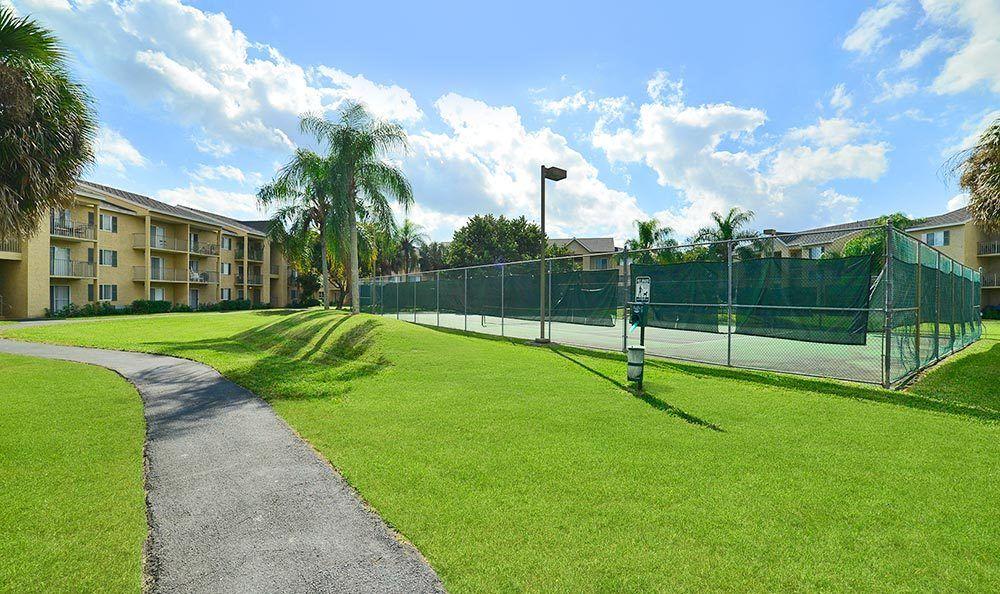 Exterior at Palmetto Place Apartments in Miami.