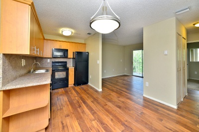 Open floor plans at apartments for rent at Fairway View Apartments.