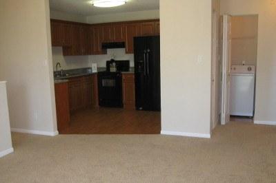 Open floor plans at apartments for rent at Azalea Village.
