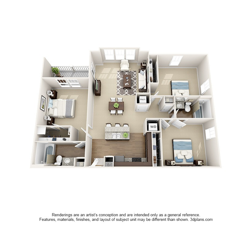 Charmant 3 Bedroom