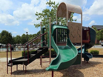 Your children will love the playground at Laurel Springs here in High Point