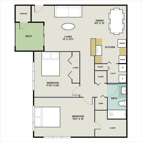 250 Ft Studio Apartment Floor Plans studio, 1 & 2 bedroom apartments for rent in tampa, fl