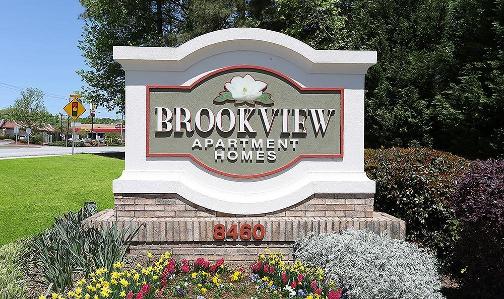Signage at Brookview Apartment Homes