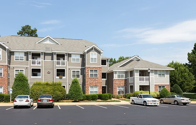 Our resident buildings are spotless, inside and out, here at The Seasons at Umstead in Raleigh