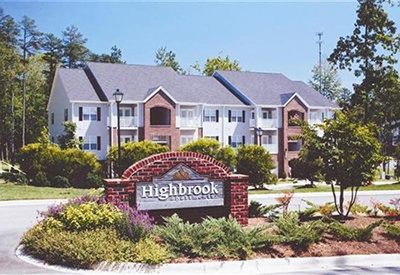 Highbrook's sign welcomes residents and visitors