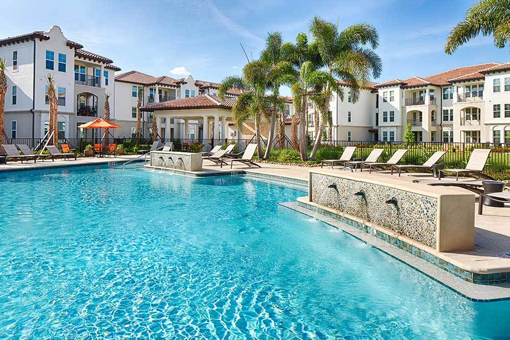 Resort Style Pool At Our Apartments In Ocoee