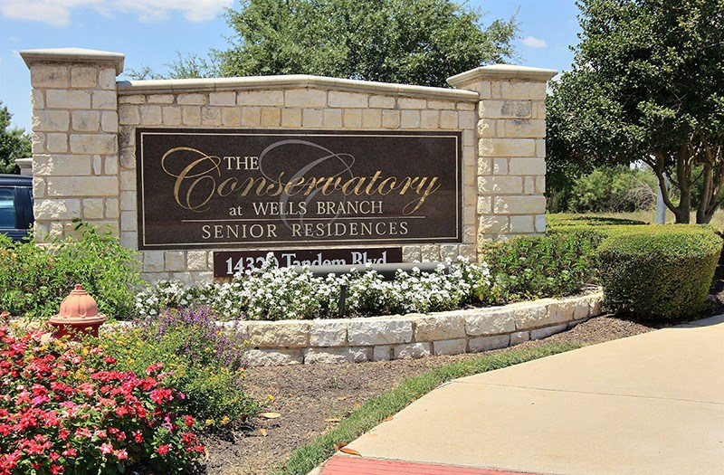 Welcome to luxurious senior living at Conservatory At Wells Branch!