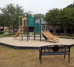 Killeen apartments for rent have a safe playground area