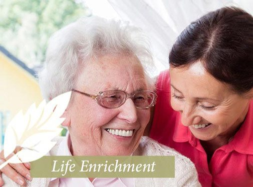 Life enrichment care at Fieldstone Memory Care in Yakima, WA