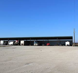 Covered Rv Storage In Granbury