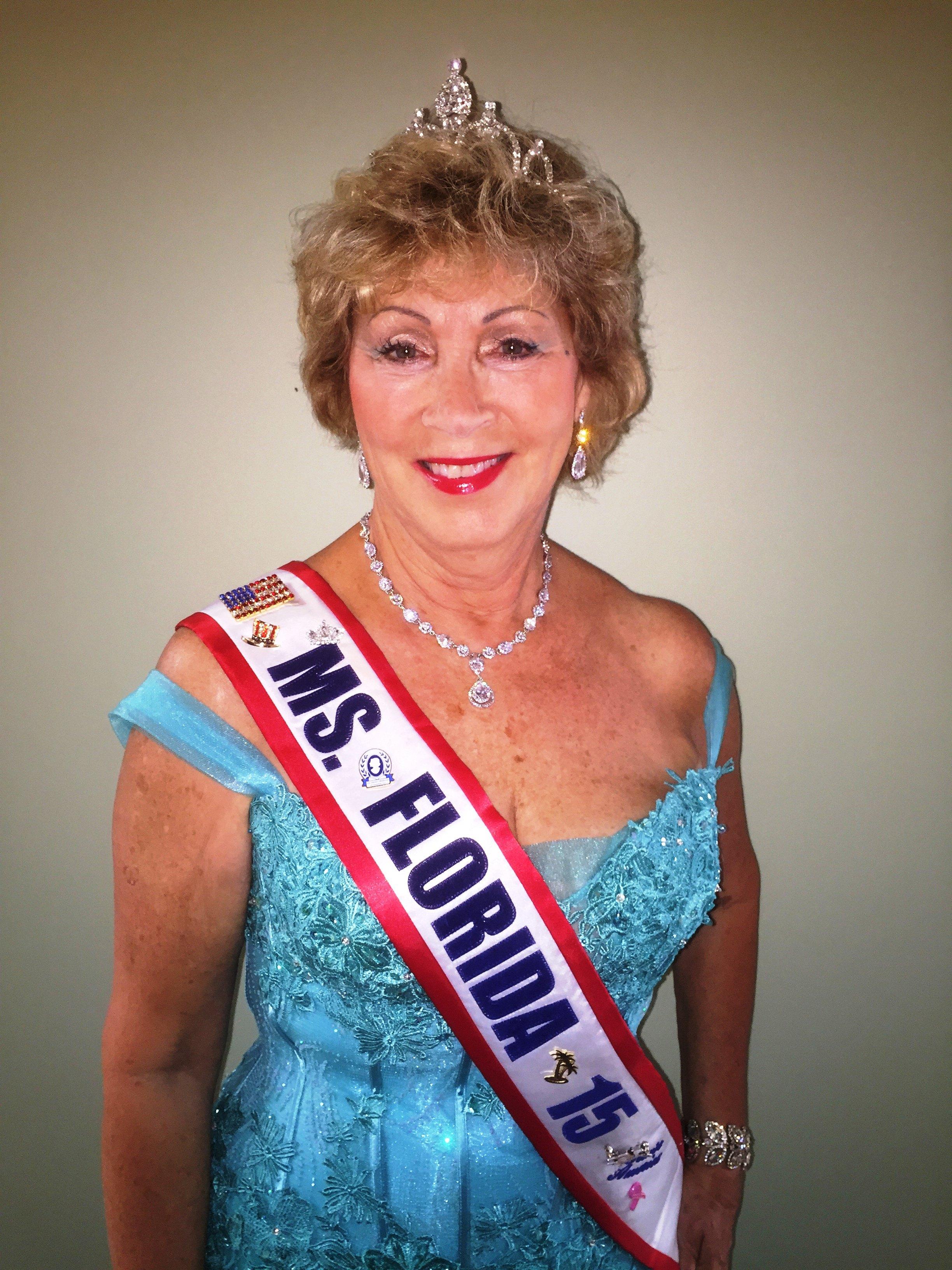 Ms. Senior Florida pageant winner 2015