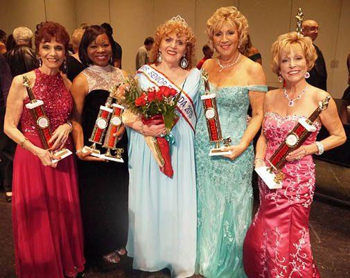 Our Ms. Senior Florida top 5 contestants