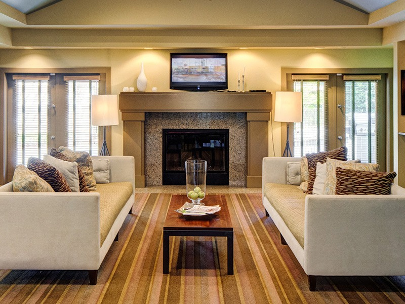 Clubhouse at apartments in Mukilteo, Washington