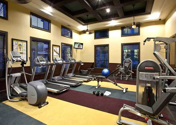 State of the art fitness at Avanti Apartments