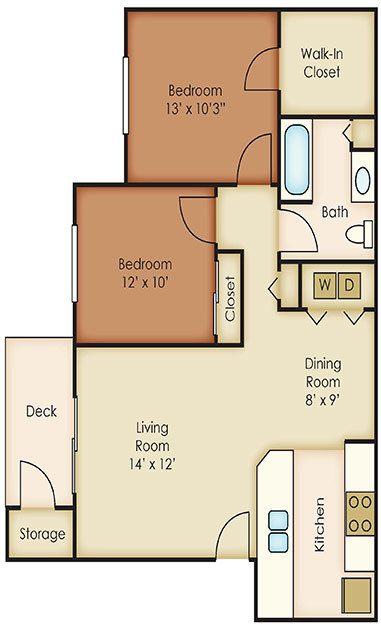 1, 2 & 3 Bedroom Apartments in Spokane Valley | Aspen Village