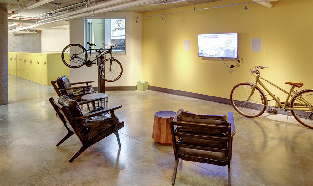 our apartment community embraces a bicycle friendly lifestyle