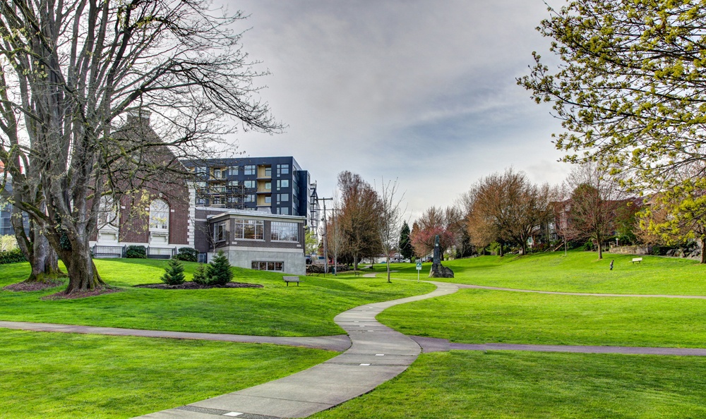 our apartments are close to plenty of open green spaces