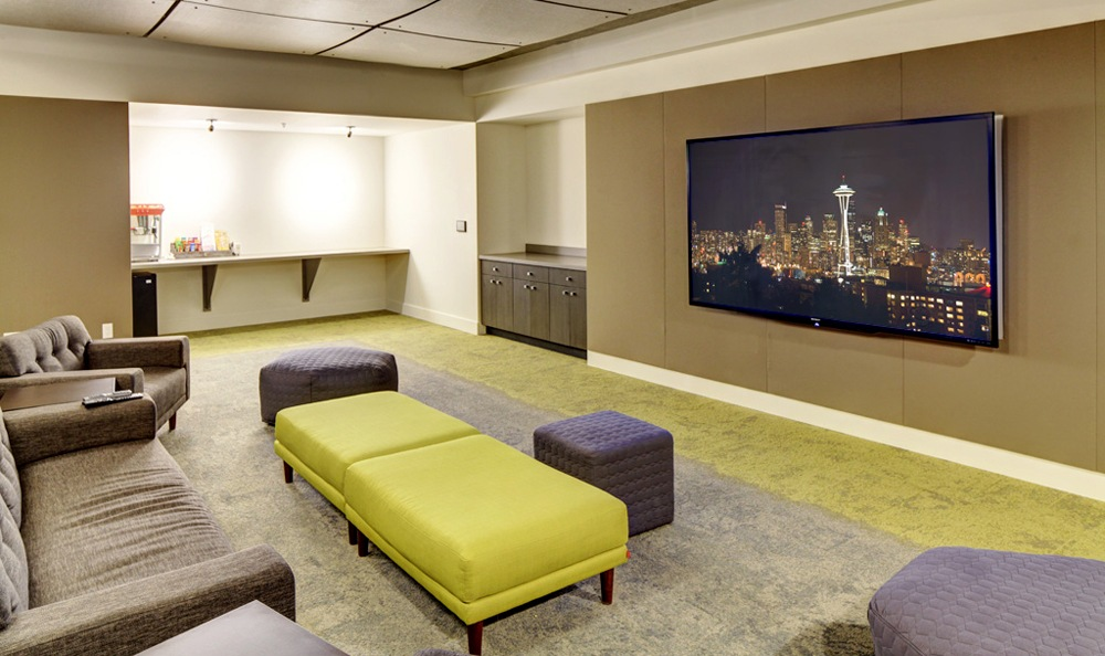 our residents enjoy a sleek and modern community clubhouse