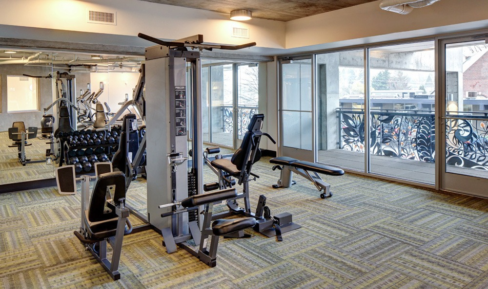 take advantage of our state of the art fitness center