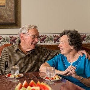 Living options at the senior living community in Baltimore
