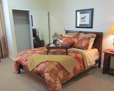 Feel at home with spacious bedrooms at senior living in St Petersburg