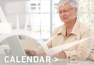 View the calendar of the senior living community in St. George