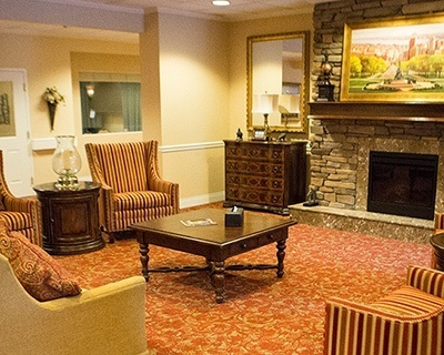 Common room at the senior living in Feasterville Trevose