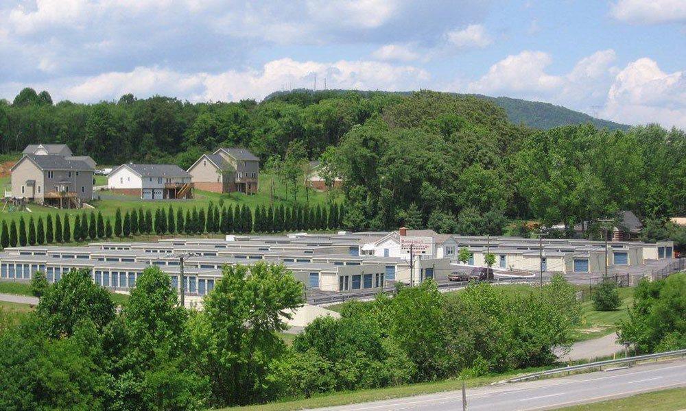 Lovely self storage facility in Roanoke, VA.