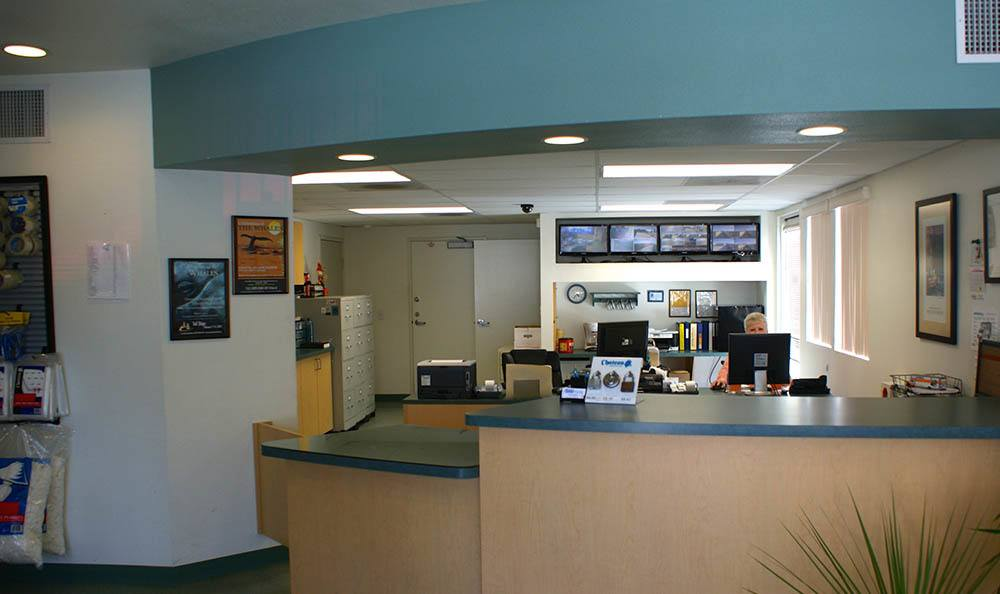 front office at self storage in port hueneme california