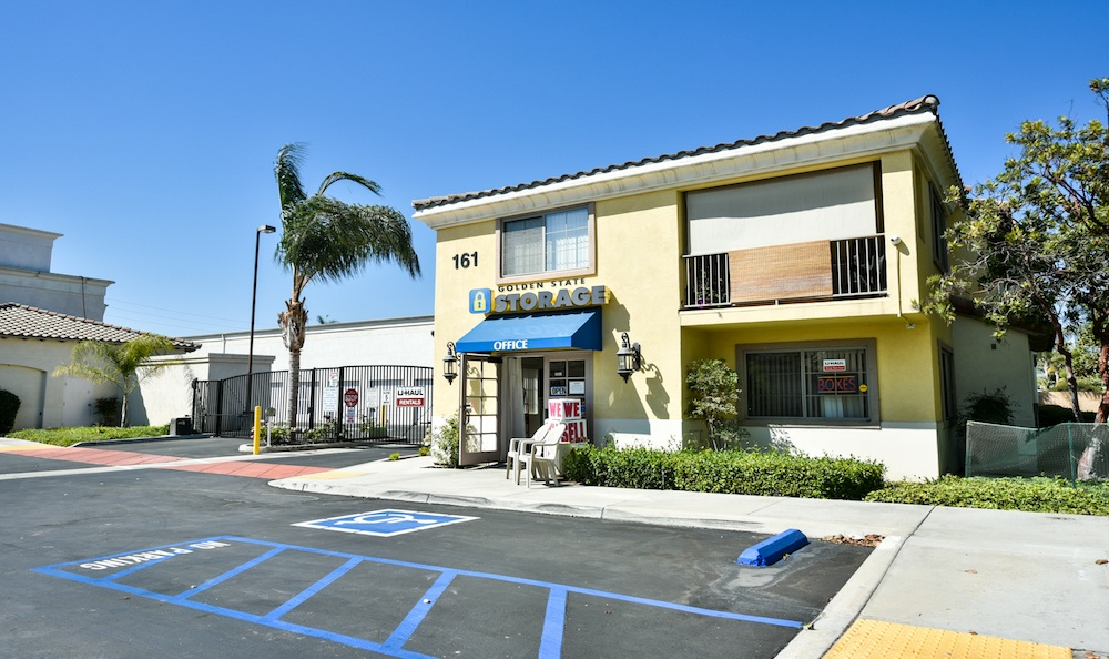 Our beautiful storage facility at Carriage Square in Oxnard