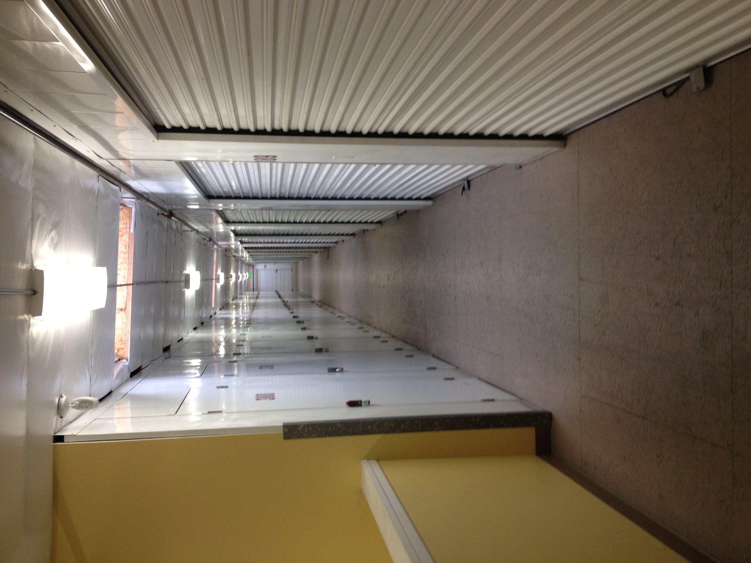 self storage in oxnard california interioir hallway
