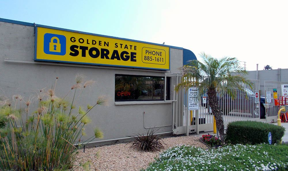 self storage in northridge california sign