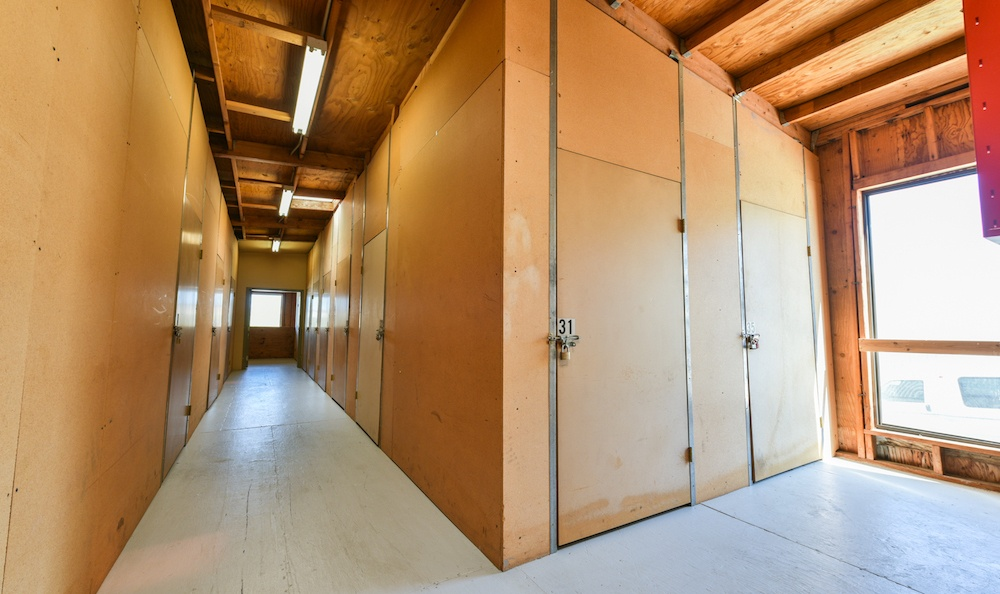 indoor storage units at our facility on golden triangle in santa clarita