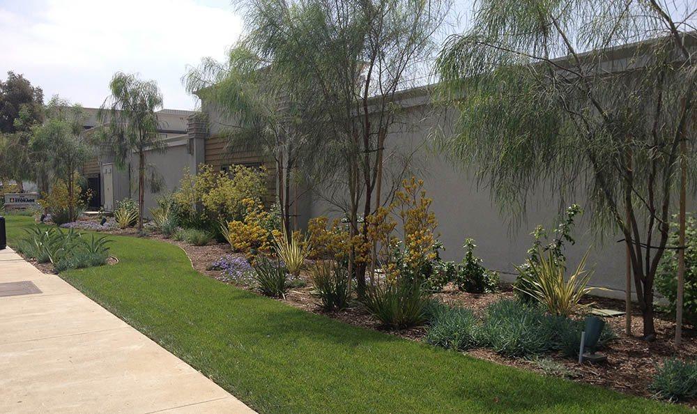 self storage in santa fe springs california exterior wall