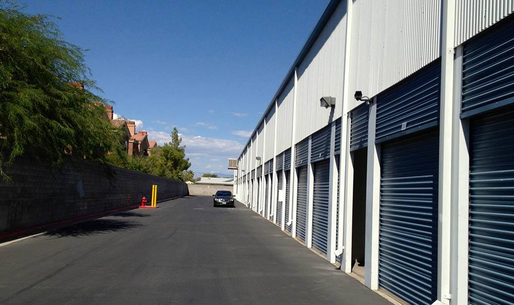 self storage in las vegas nevada aisle