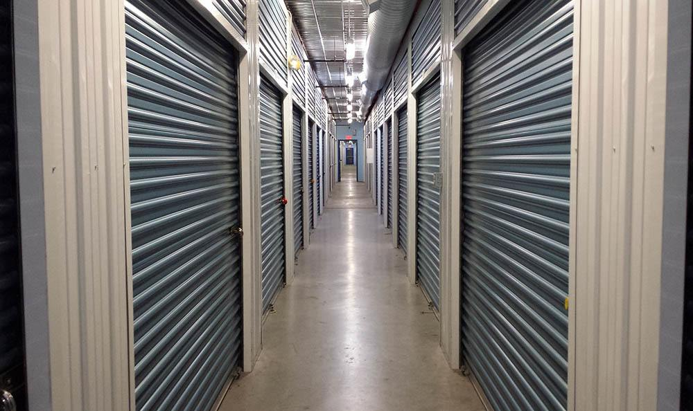 self storage in las vegas nevada hallway