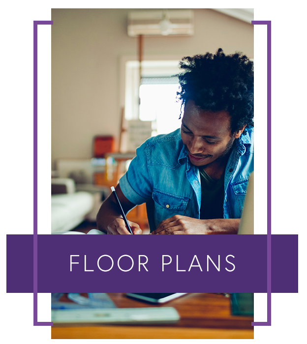 Learn more about our spacious floor plans at 4000 Hulen Urban Apartment Homes