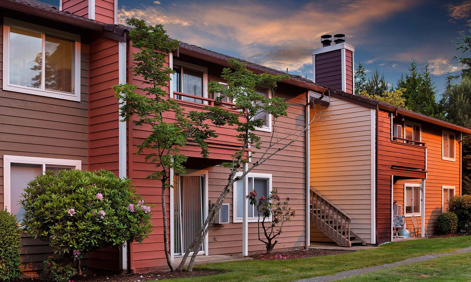 Apartments in Mountlake Terrace, WA.
