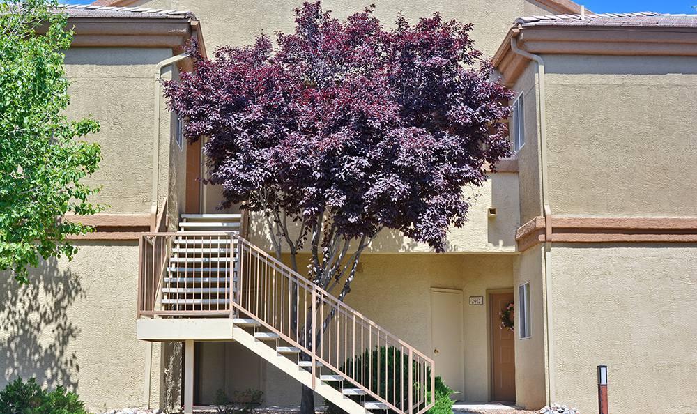Rio Ranchor apartments have clean exterior buildings