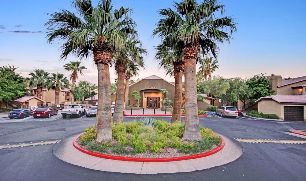 Entry way apartaments At Village at Desert Lakes In Las Vegas NV