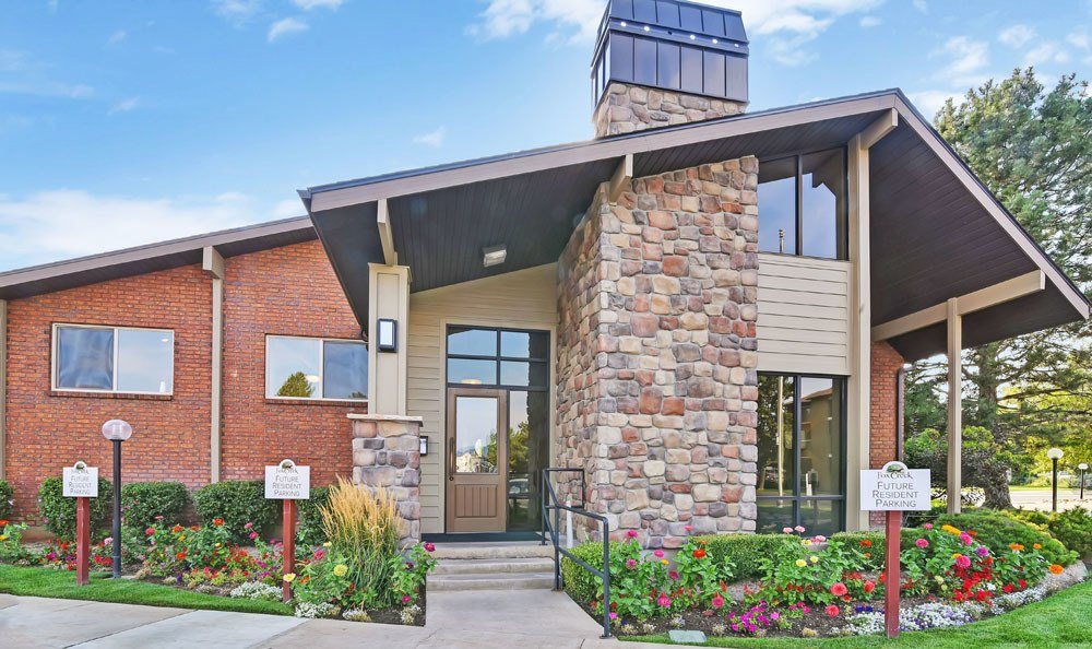 Clubhouse front At Fox Creek Apartments In Layton UT