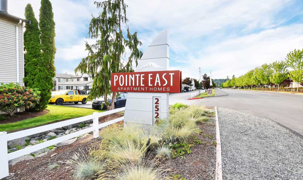 Exterior at Pointe East apartments