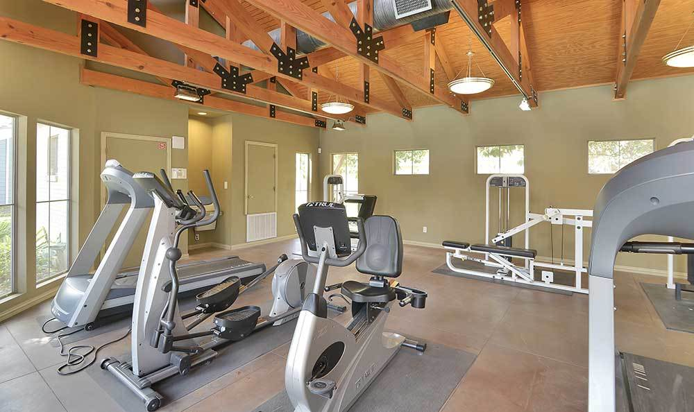 Fitness Center At Our Apartments In Cypress
