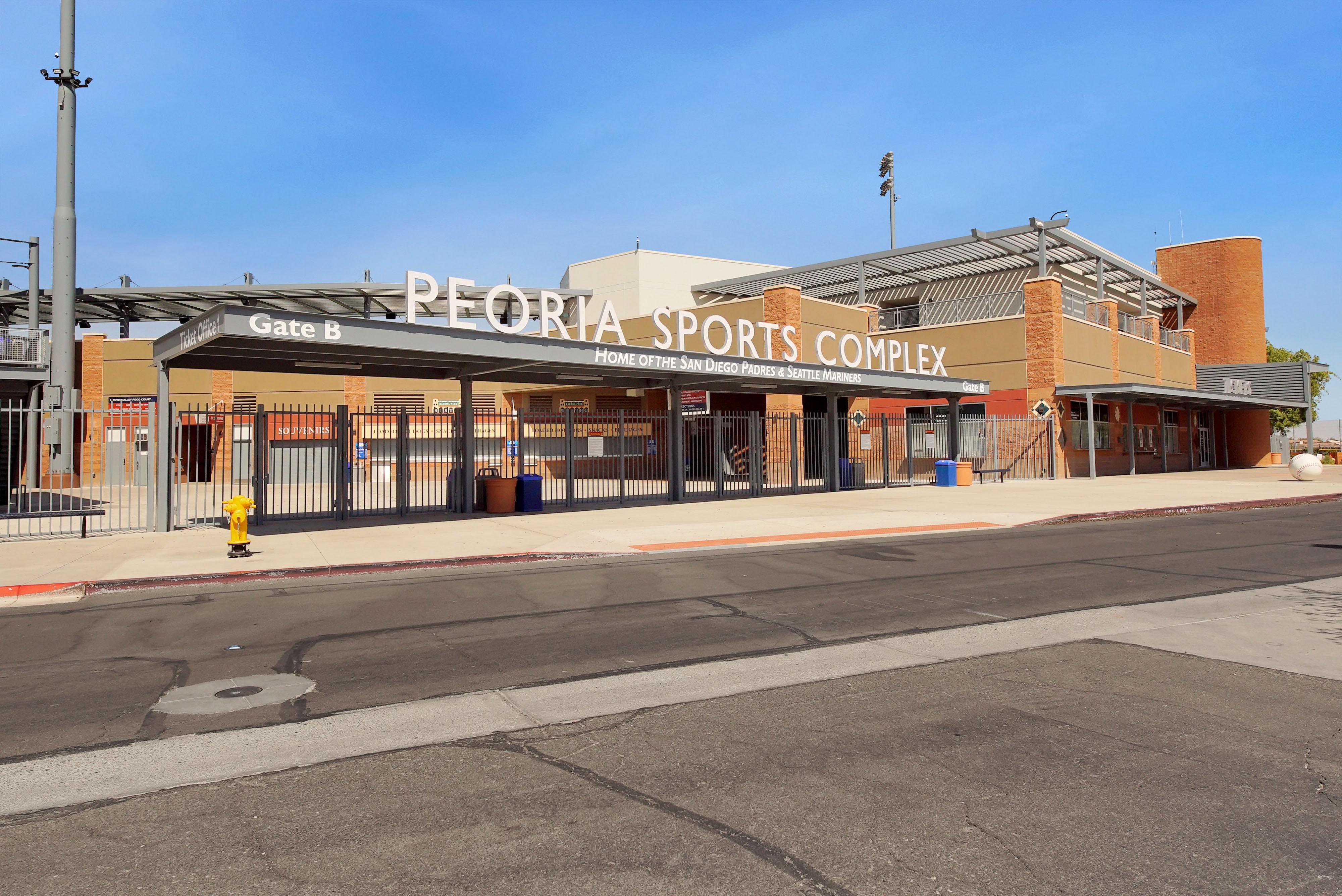 Peoria Sport Complex In Glendale AZ