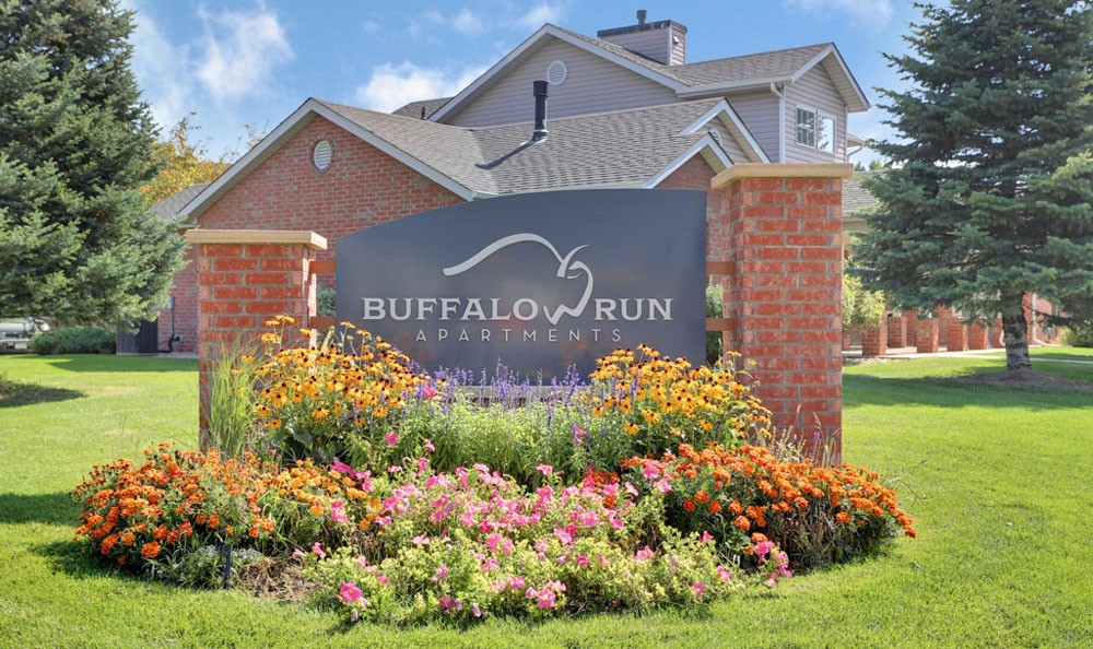 Entry At Buffalo Run Apartments In Fort Collins CO