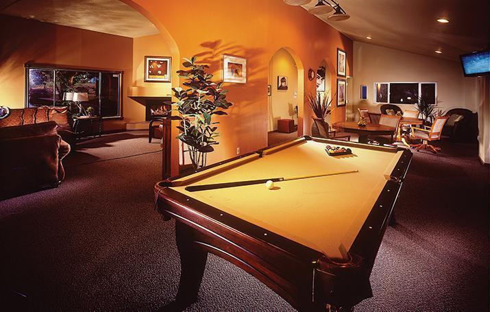 Billiards Room at Mission Rock Residential