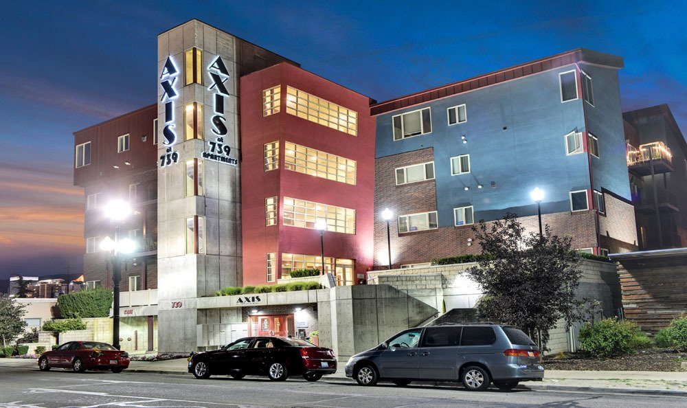 Apartments Exterior At Axis at 739 In Salt Lake City UT