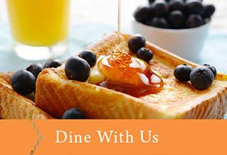 Dine with us at Sweetbriar Villa